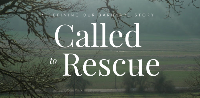 called to rescue vegan movie poster about a livestock sanctuary